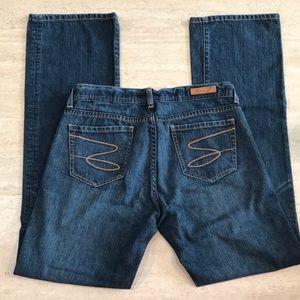 SEVEN 7 bootcut women's blue jean SIZE 30 classic